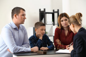 meeting for modification of child custody
